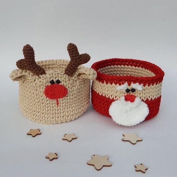 decoração de crochê