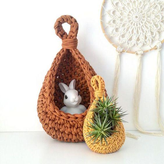 acessorio em crochê