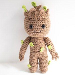boneco feito em croche