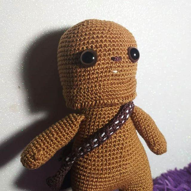 Crochê intergaláctico- inspirações em ficção científica - Chewbacca – Star Wars