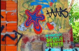 Movimento Yarn Bombing intervenção urbana